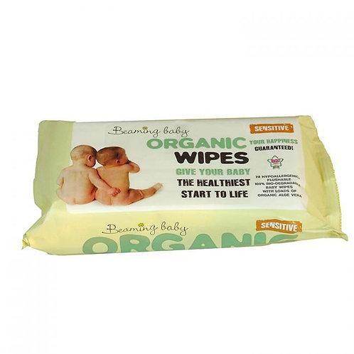 Beaming BabyCertified Organic Baby WipesSensitive -72