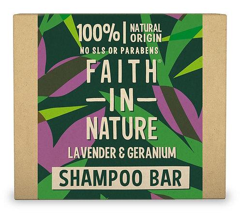 Faith in Nature Lavender Geranium Shampoo Bar