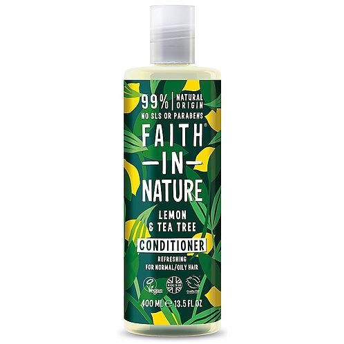 Faith in Nature Lemon & Tea Tree Conditioner - 400ml