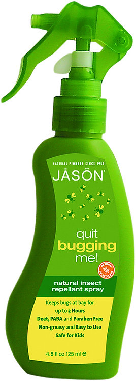 Jason Natural Quit Bugging MeInsect Repellent Spray