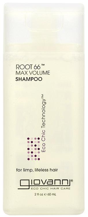 Giovanni Root 66 Max Volume Shampoo - 60ml