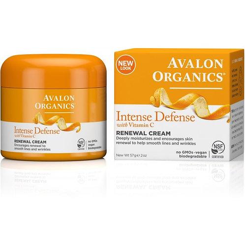 Avalon Organics Intense Defensewith Vitamin CRenewal Cream