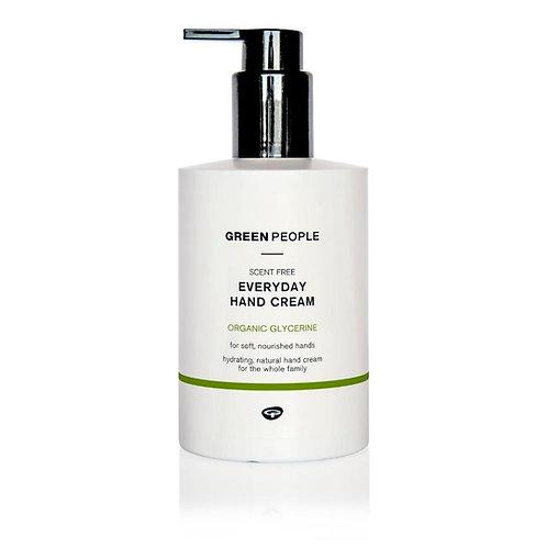 Green People Scent Free Everyday Hand Cream - 300ml