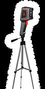 T120H teplotní kamera na stativu - screenovací scénář ze stativu