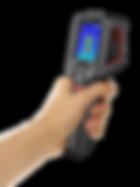 T120H teplotní kamera s rukou - scénář ručního screenovacího měření