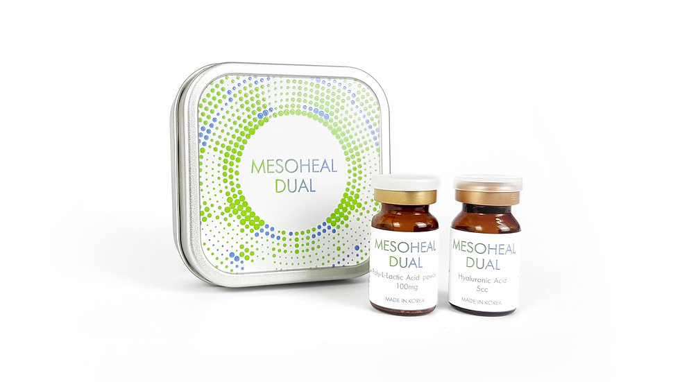 Mesoheal Dual- highly-purified hyaluronic acid, Anti-aging