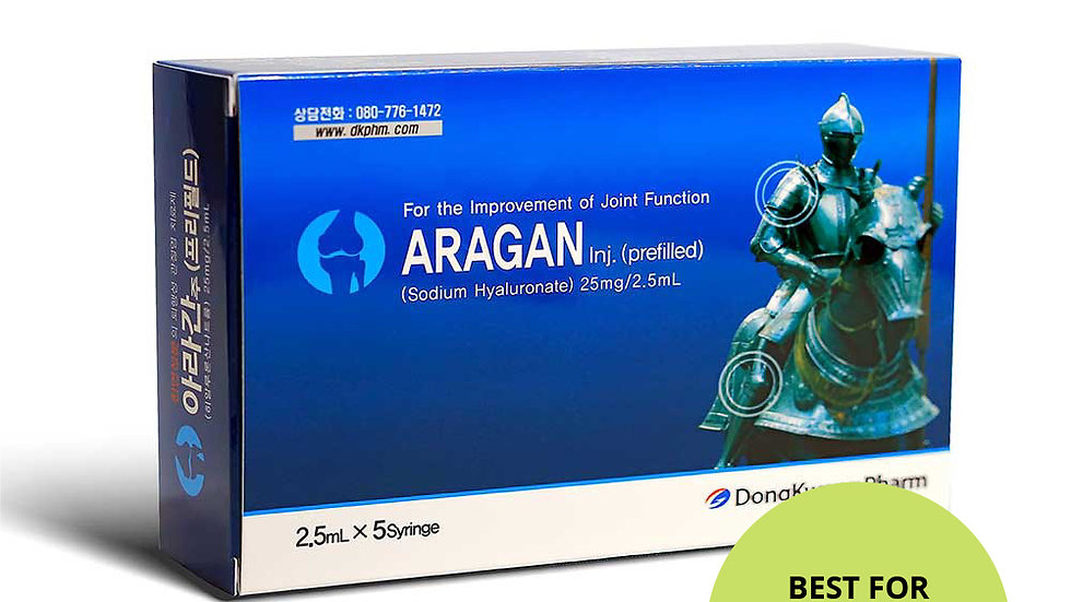 Aragan-dermal filler, Anti-aging
