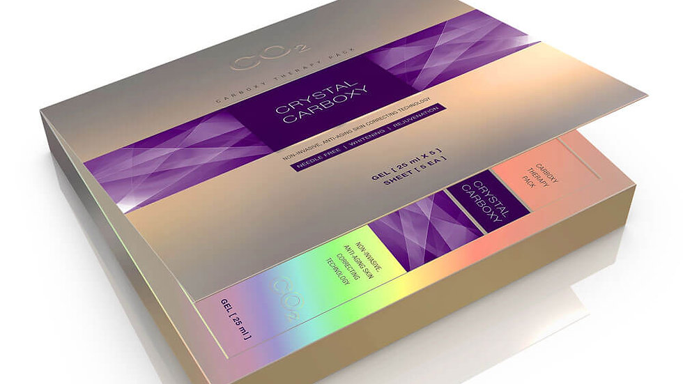 Crystal Carboxy Non-invasive, Anti-aging skin correcting technology