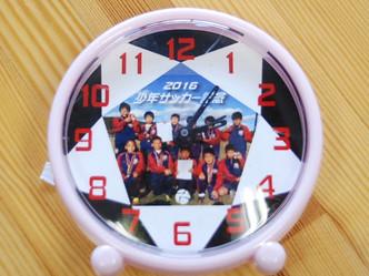 目覚まし時計の文字盤をデザイン