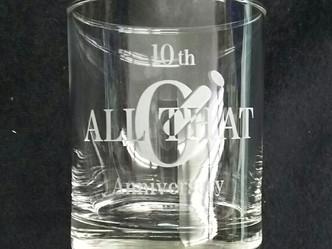 販促品 グラス製作