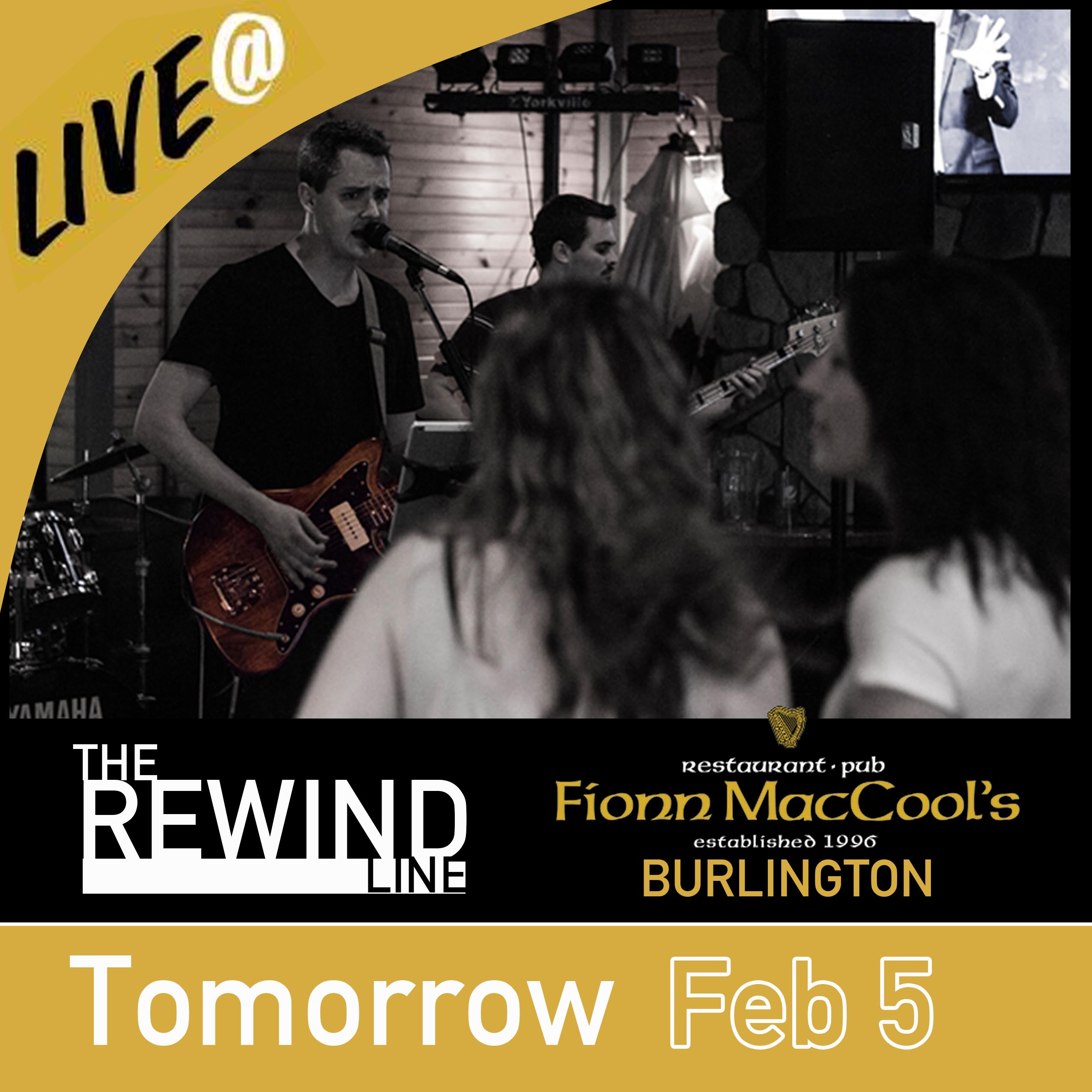 Feb 5, 201 Fionn MacCools Burlington