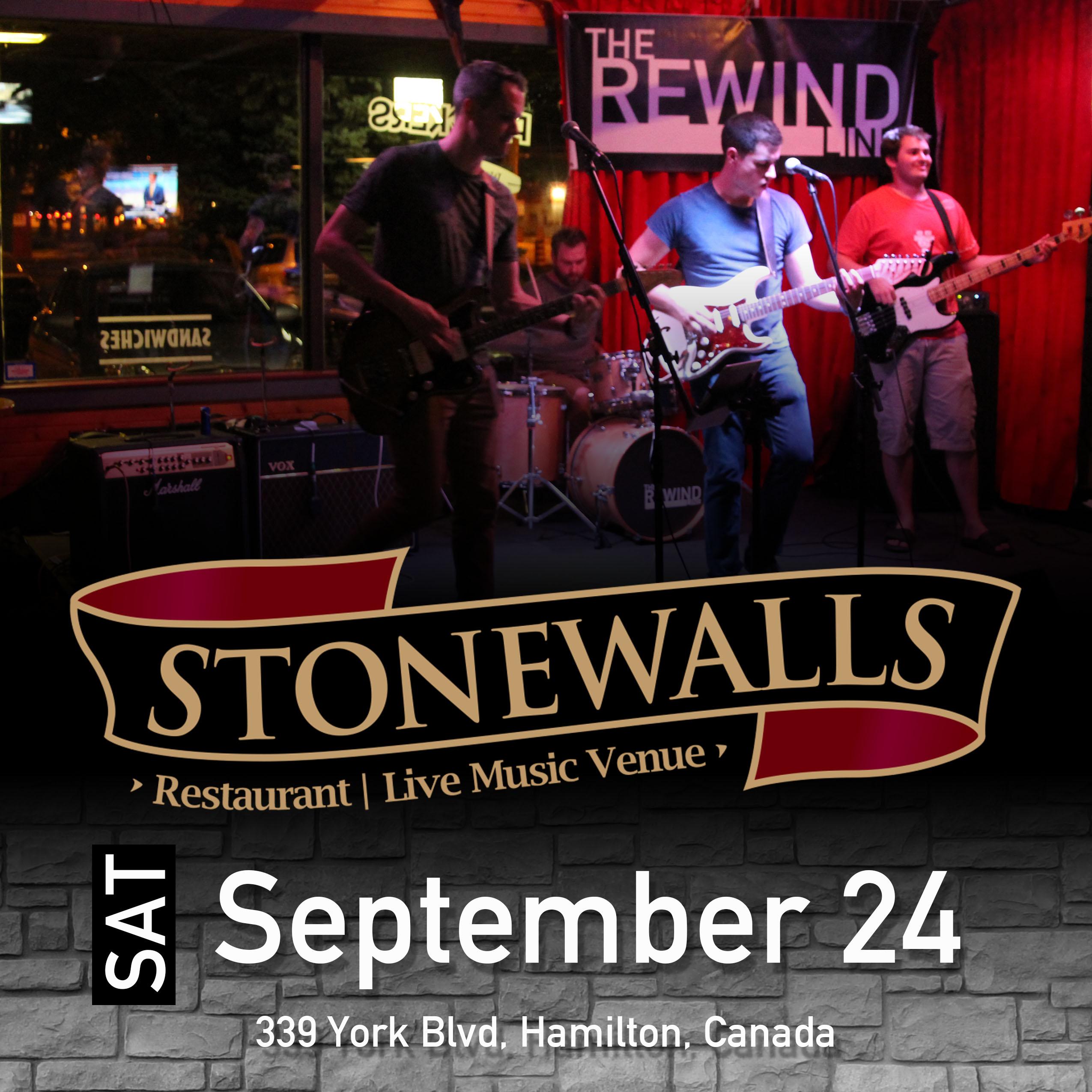 Sept 24 Stonewalls
