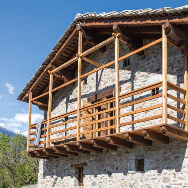 CHALET IN AOSTA VALLEY