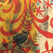 Sparrow(Red Pattern)
