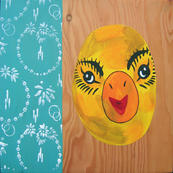 Chicken Mask: Hotel Wall