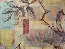 Bocage (Embroidered Bird)