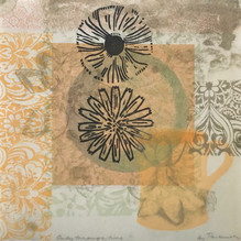 Only through time, 30.5x30.5cm, litho and relief on washi $300.