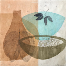 Mexican Morning, 30.5x30.5cm, litho and relief on washi. $300