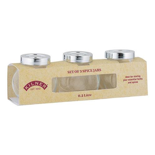 Spice Jar - Set of 3