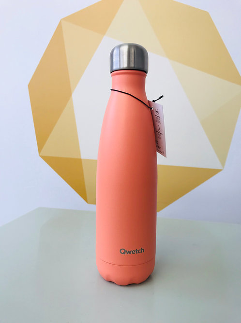 Insulated Stainless Steel Bottle - Pastel Peach