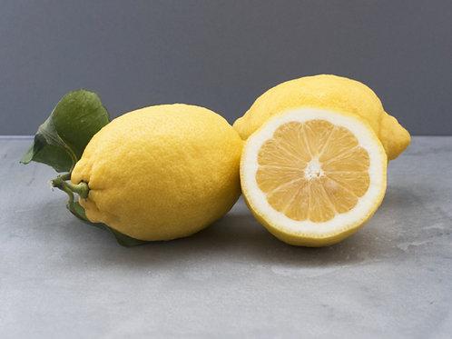 Lemon - Leafy - Unwaxed - Large - £5.32/kg