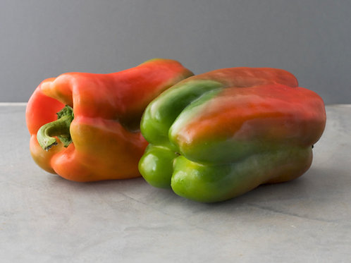 Red & Green Pepper - Large