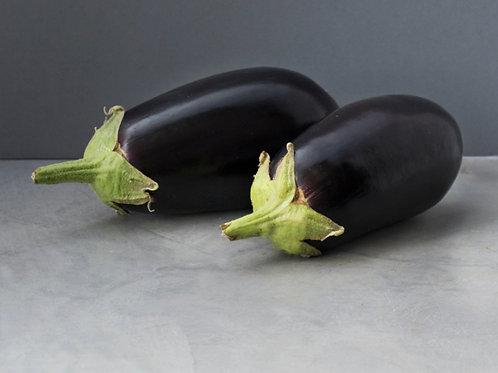 Aubergine - Black
