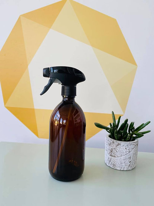 Amber Glass Spray Bottle - 500ml