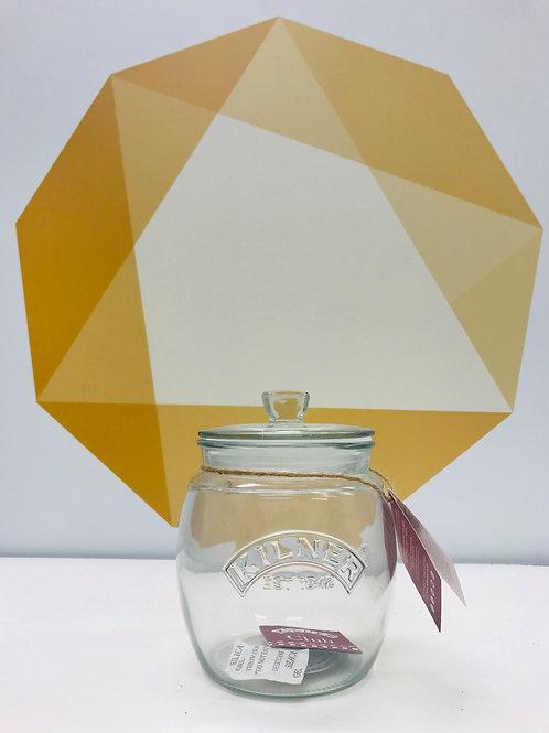 Push Top Storage Jar - 850ml
