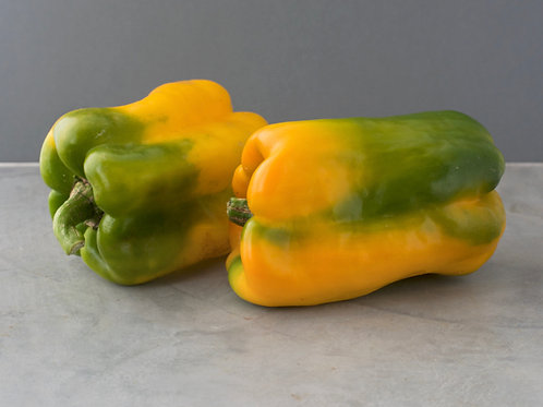 Yellow & Green Pepper - Large