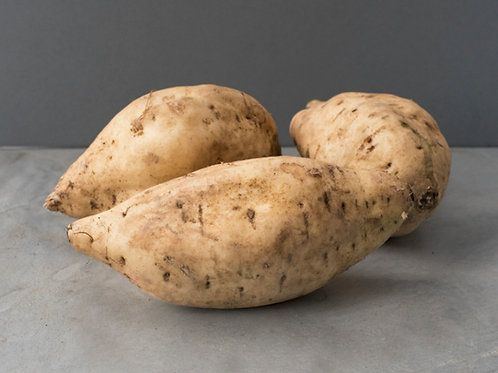 White Sweet Potatoes -£6.30/kg