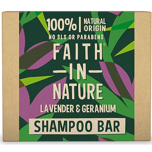 Lavender & Geranium Shampoo Bars - Faith in Nature