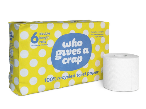 Recycled Toilet Paper - Pack of 6