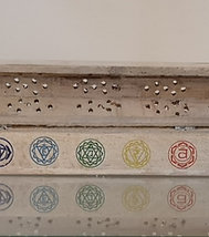 White Chakra Incense Box
