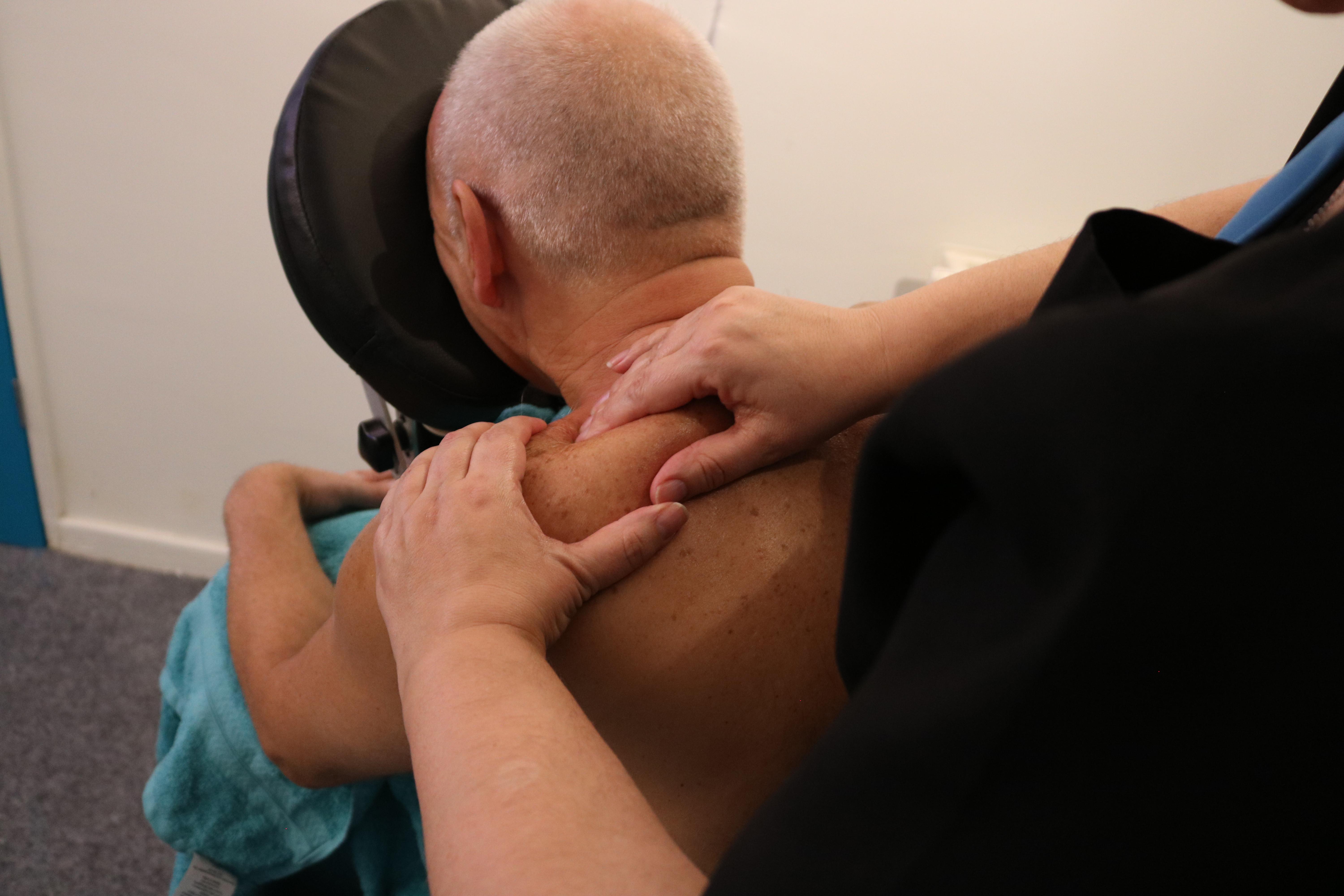 Back Massage - 30 Mins