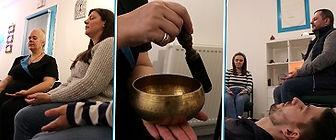 Group Meditation Session at Olettesa, Hazel Grove, Stockport