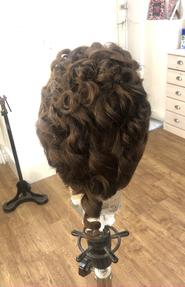 Mid Victorian Wig