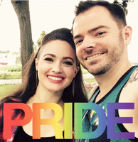 Katie and Eric at Pride Festival.JPG