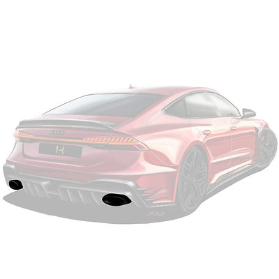 RS 7 KEYVANY EXHAUST MUFFLER