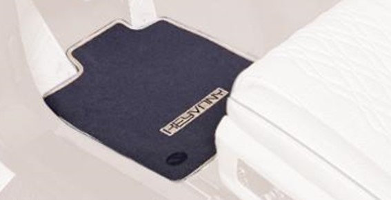 RS 7 KEYVANY EXCLUSIVE FOOT MATS