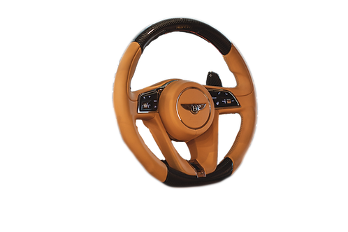 CONTINENTAL GT STEERING WHEEL CARBON FIBRE LEATHER PERFORMANCE
