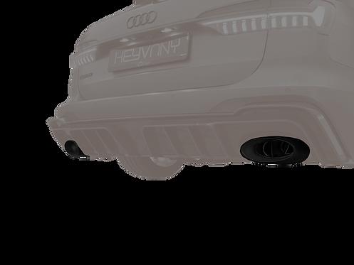 RS 6 KEYVANY EXHAUST MUFFLER