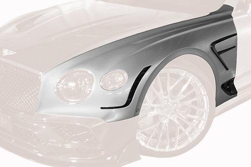 CONTINENTAL GT-GTC CARBON FIBRE FRONT FENDER WITH W12 SET & GILLS
