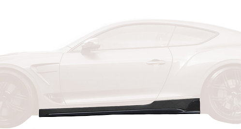 CONTINENTAL GT-GTC CARBON FIBRE SIDE SKIRT