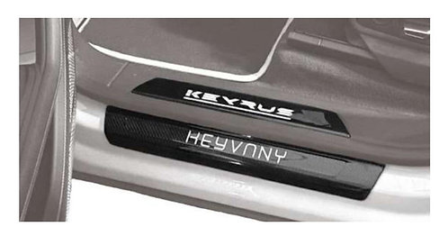 KEYRUS CARBON FIBRE DOOR SILL GUARDS