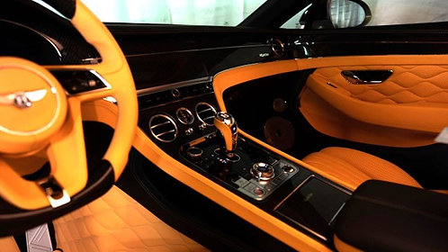 CONTINENTAL GT-GTC  INDIVIDUAL LEATHER DESIGN COMPLETE REFINED INTERIEUR,
