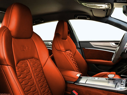 RS 6 KEYVANY INDIVIDUAL LEATHER DESIGN COMPLETE REFINED INTERIEUR, BY EXCLUSIVE