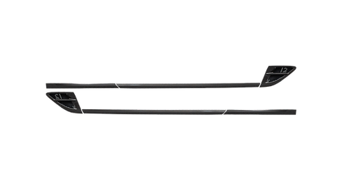 CONTINENTAL GT-GTC CARBON FIBRE DOOR FRAME WITH W12 SET