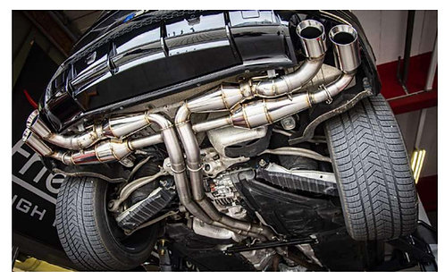 KEYRUS  KEYVANY EXHAUST SYSTEM WITH STRAIGHT PIPES +60HP