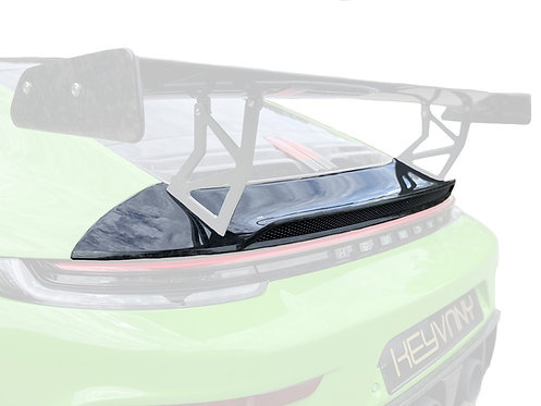 PORSCHE 992 GTR CARBON FIBRE REAR SPOILER  (COMBI 2 OF 1)